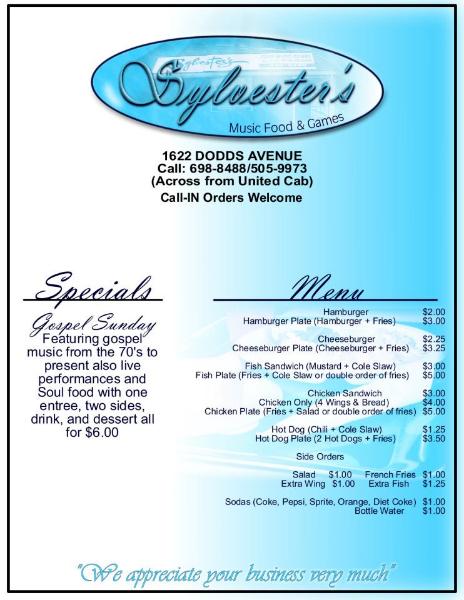 menu-sylvesters